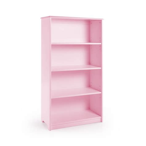guidecraft classic 48 quot bookshelf pink