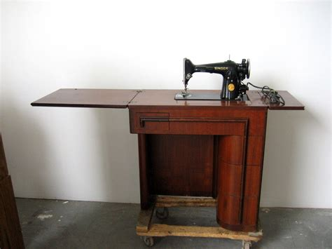where can i buy a sewing machine cabinet 1942 singer 201 2 sewing machine in original 42 art deco