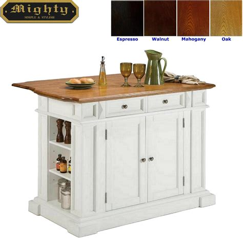 butcher block portable kitchen island home styles butcher block white portable kitchen island