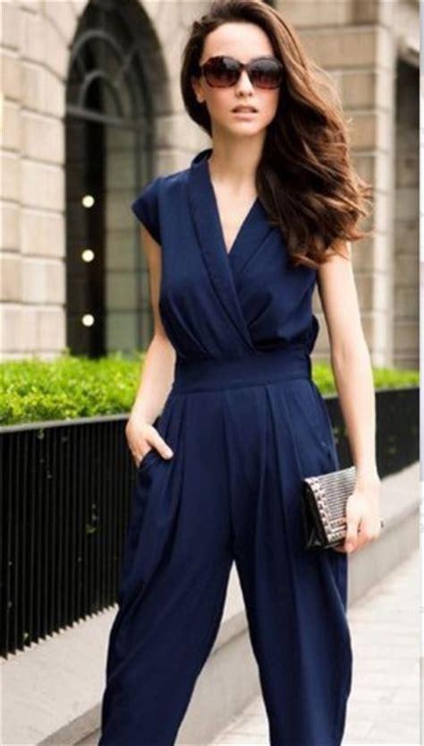 Bj Blue Jumpsuit jumpsuit blue navy pantsuit wheretoget
