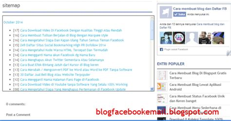 cara membuat daftar isi novel cara membuat daftar isi sitemap manual dan otomatis di blog