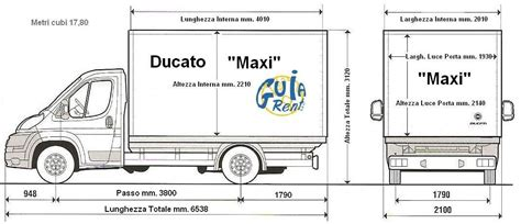ducato maxi dimensioni interne misure interne ducato idea di immagine motociclo
