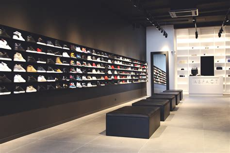sneaker store new aspact high end sneaker store mdfs