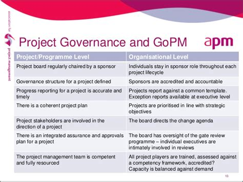 project governance template project management governance structure template 28