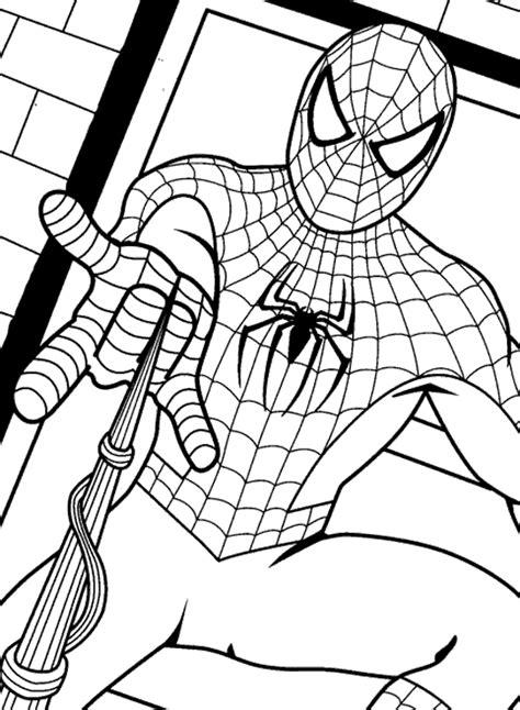 imagenes para pintar spiderman dibujos de spiderman para colorear