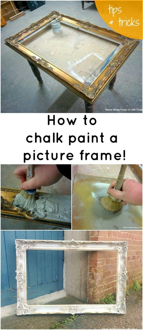 chalk paint picture frames 25 best ideas about picture frame table on 3