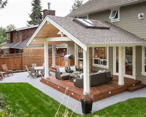 warm  cozy rustic outdoor ideas  decorate