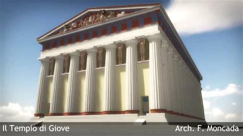 ricostruzione del tempio  giove ad agrigento temple