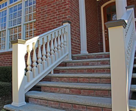 Banisters And Spindles by Porch Railing Restoration Using Wood Spindles Balusters