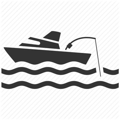 boat fishing icon fishing by siwat v