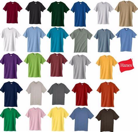hanes t shirt colors hanes beefy t tagless t shirt 100 cotton 518t mens