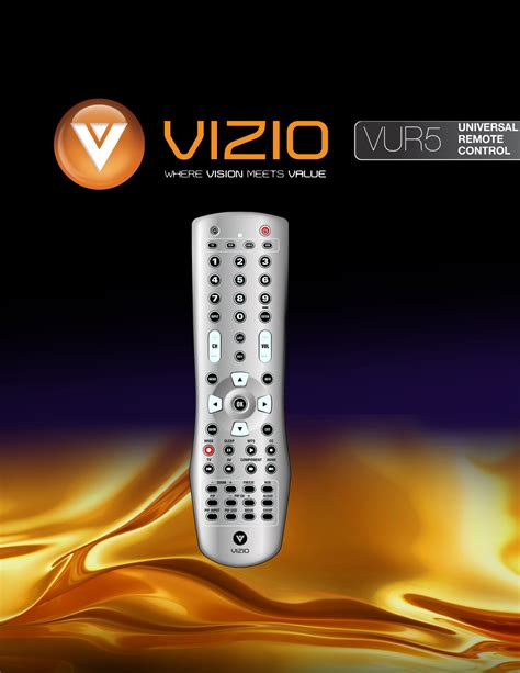 visio troubleshooting vizio universal remote vur5 user guide manualsonline