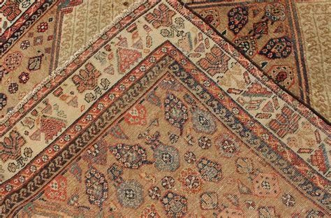 tribal pattern runner antique persian serab runner with tribal geometric pattern