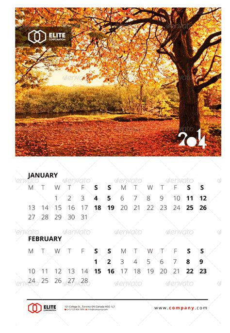 3 calendar volume three wall calendar 2014 vol 1 by arsalanhanif graphicriver