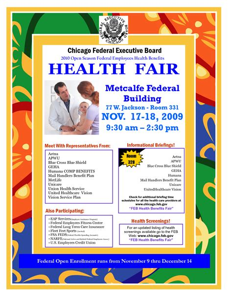 health flyer template 10 best images of health fair editable flyer templates