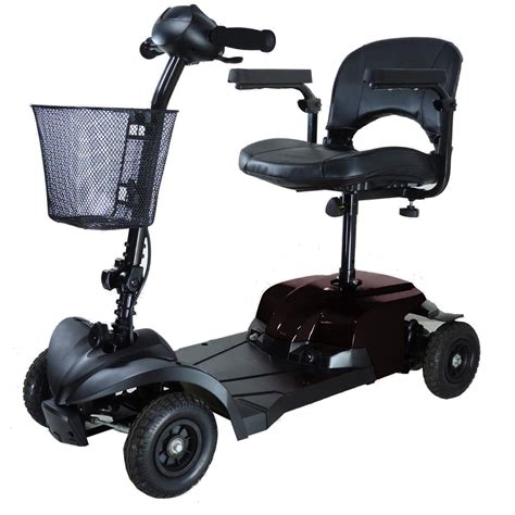 motorized handicap scooters compact mobility scooter 4 fenetic wellbeing