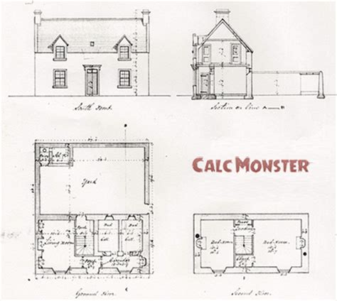 calculating square footage of a house how to calculate square footage calc monster