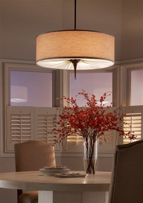 Dining Room Drum Pendant Lighting Dining Room Light Fixtures For Minimalist House Traba Homes