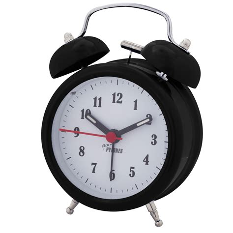 colortime alarm clock black pylones