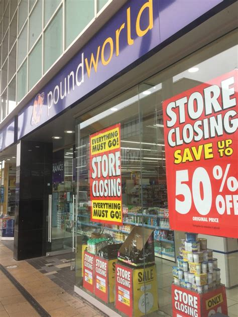 iceland    poundworld store  crawley town