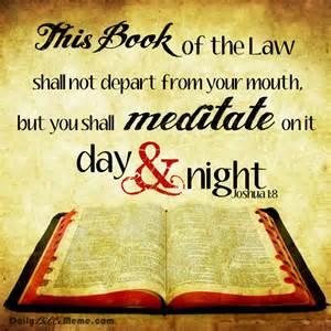 Scripture Memes - joshua daily bible meme