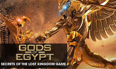 the egypt game movie gods of egypt secrets of the lost kingdom the game for
