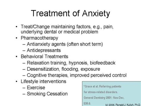 remedies for anxiety 399 medicine i 2006 tufts opencourseware
