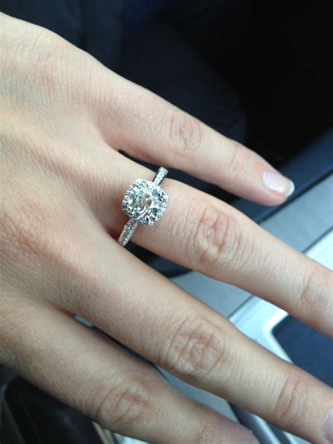 Kirk Kara Wedding Bands – Diamond Channel Set Engagement Ring with Matching Wedding