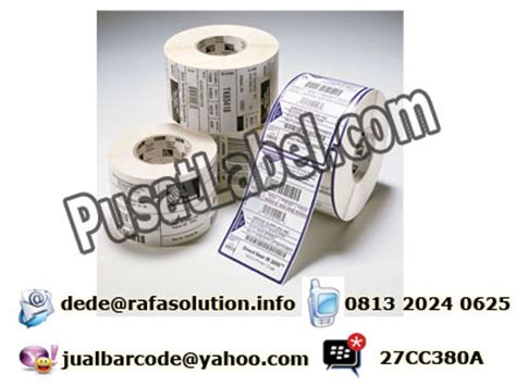 Jual Kertas Barcode by Jual Kertas Label Barcode Rafa Solution