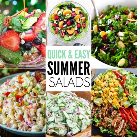 summer salad recipes 15 of the best easy summer salads