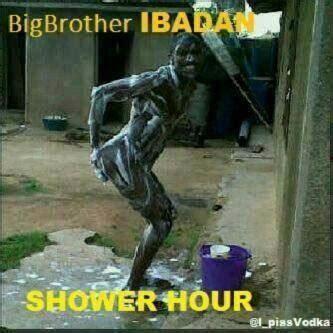 Big Shower Hour by Shower Hour Big Ibadan Only In Nigeria