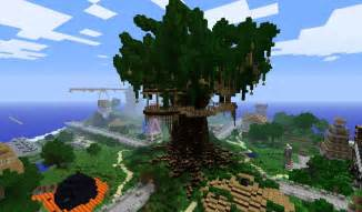 Treehouse Seed For Minecraft - minecraft treehouse minecraft seeds pc xbox pe ps4