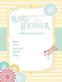 free baby shower invitations themesflip