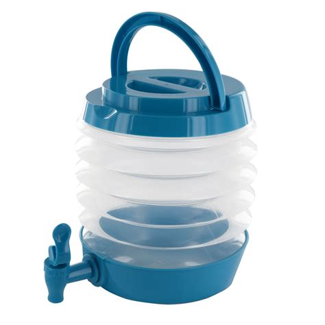 collapsible folding water dispenser portable drinks