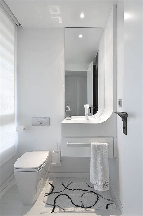 White Small Bathroom Ideas Modern White Bathroom Design From Tradewinds Imports Bathroom
