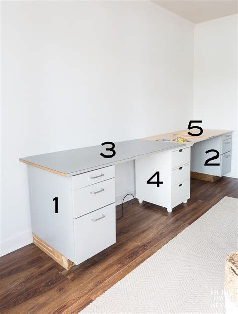craft room work table craft room work table using file cabinets in my own style