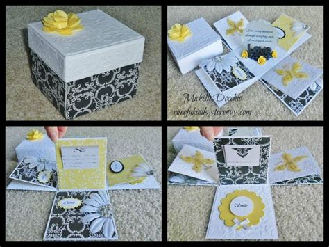 Handmade Explosion Box - handmade explosion box craft exploding boxes