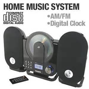gpx home system gpx hc208b home system cd player am fm tuner