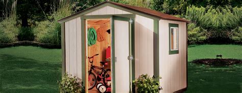 Sheds Garages Outdoor Storage by Sheds Metal Plastic Wood Garden Sheds At The Home Depot