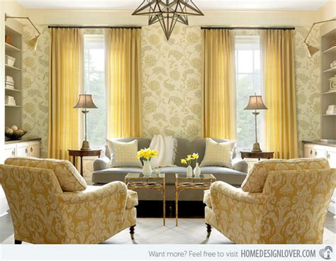 Mitchell Wall Architecture Design by 15 Fab Living Room Designs With Yellow Accent Decoration