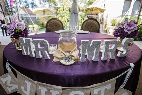 the color purple book reception real southern california weddings friar tux shop