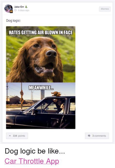 Dog Logic Meme - 25 best memes about logic cars and dogs logic cars