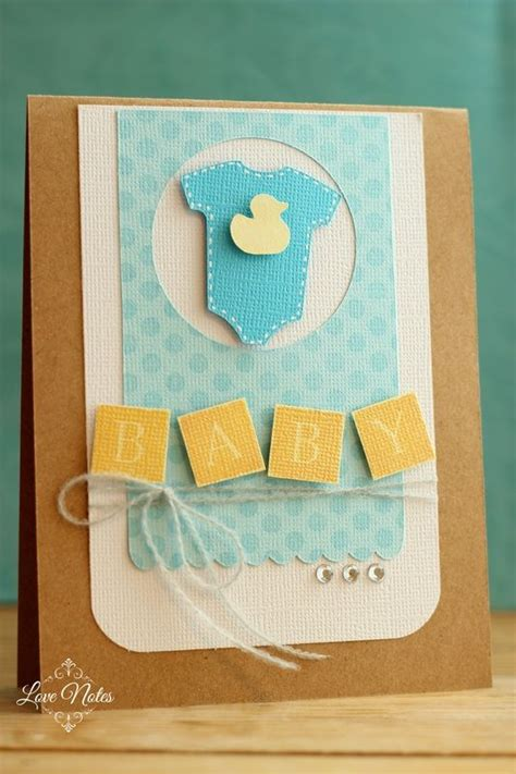 Handmade Baby Boy Cards - 52 best handmade baby cards images on baby