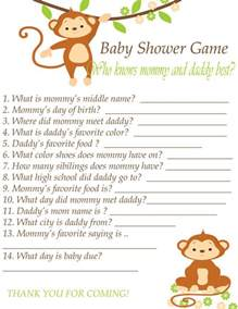 question and answer baby shower trivia quiz baby shower