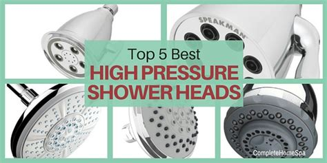High Pressure Shower by Complete Home Spa Make Every Day A Spa Day