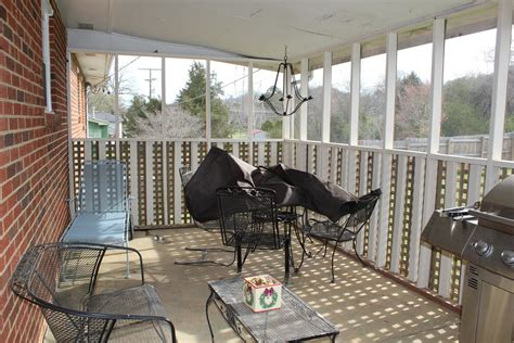 Simple Screened In Porch Makeover