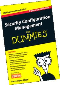 security configuration management for dummies tripwire