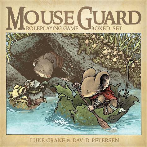 mouse guard roleplaying box set 2nd ed paizo mouse guard roleplaying game 2nd edition boxed set