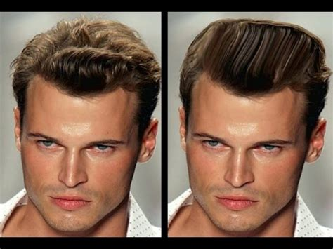 Change Hairstyle Photoshop by How To Change Hairstyle In Photoshop