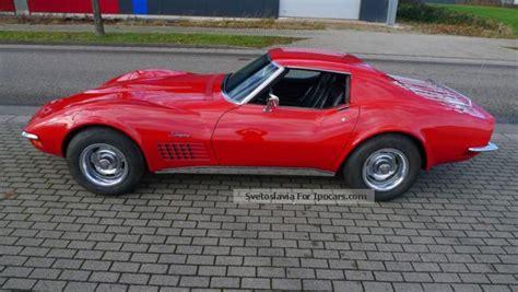 1971 corvette stingray 5 7 liter targa v8 270 hp car